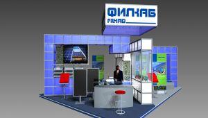 проектиране на фирмен изложбен щанд